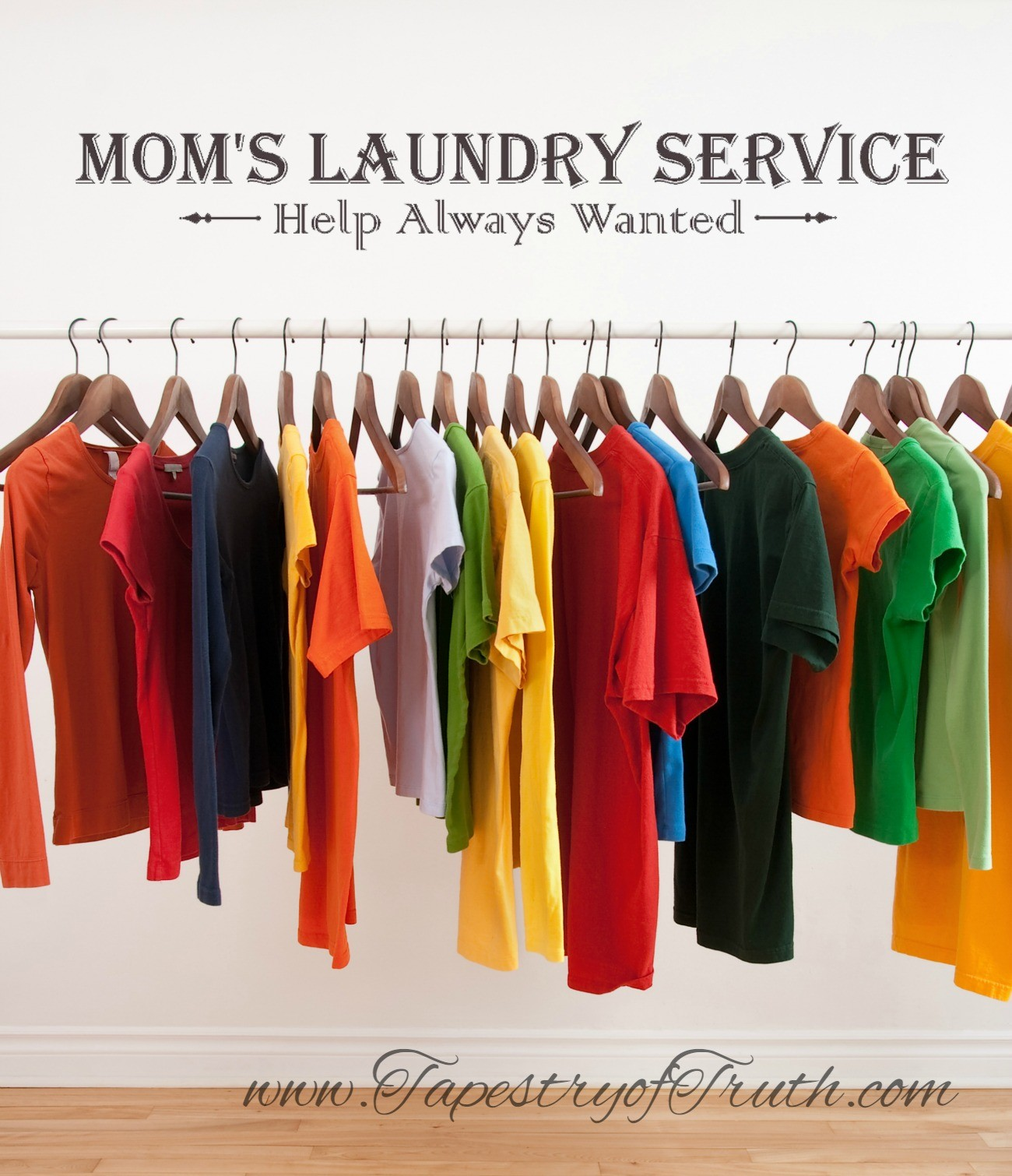 Mom's Laundry Service - Help Always Wanted
