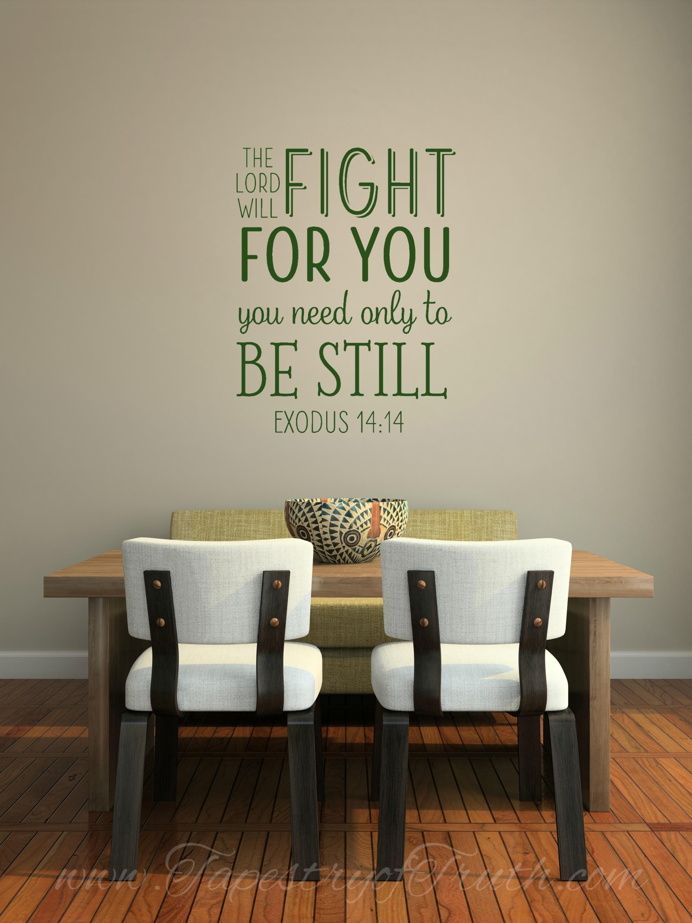 Exodus 14:14 - Decal 1