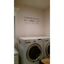 Laundry Room - Drop your drawers here!