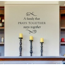 Family Prays Together