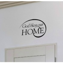 God Bless Our Home [swirl]