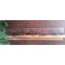 Joy to the World Stencil