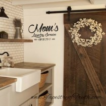 Mom's Laundry Service - Open 24-7 - Decal 2