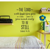 Exodus 14:14 - Decal 2