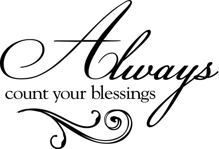 Always Count Your Blessings [Flourish]