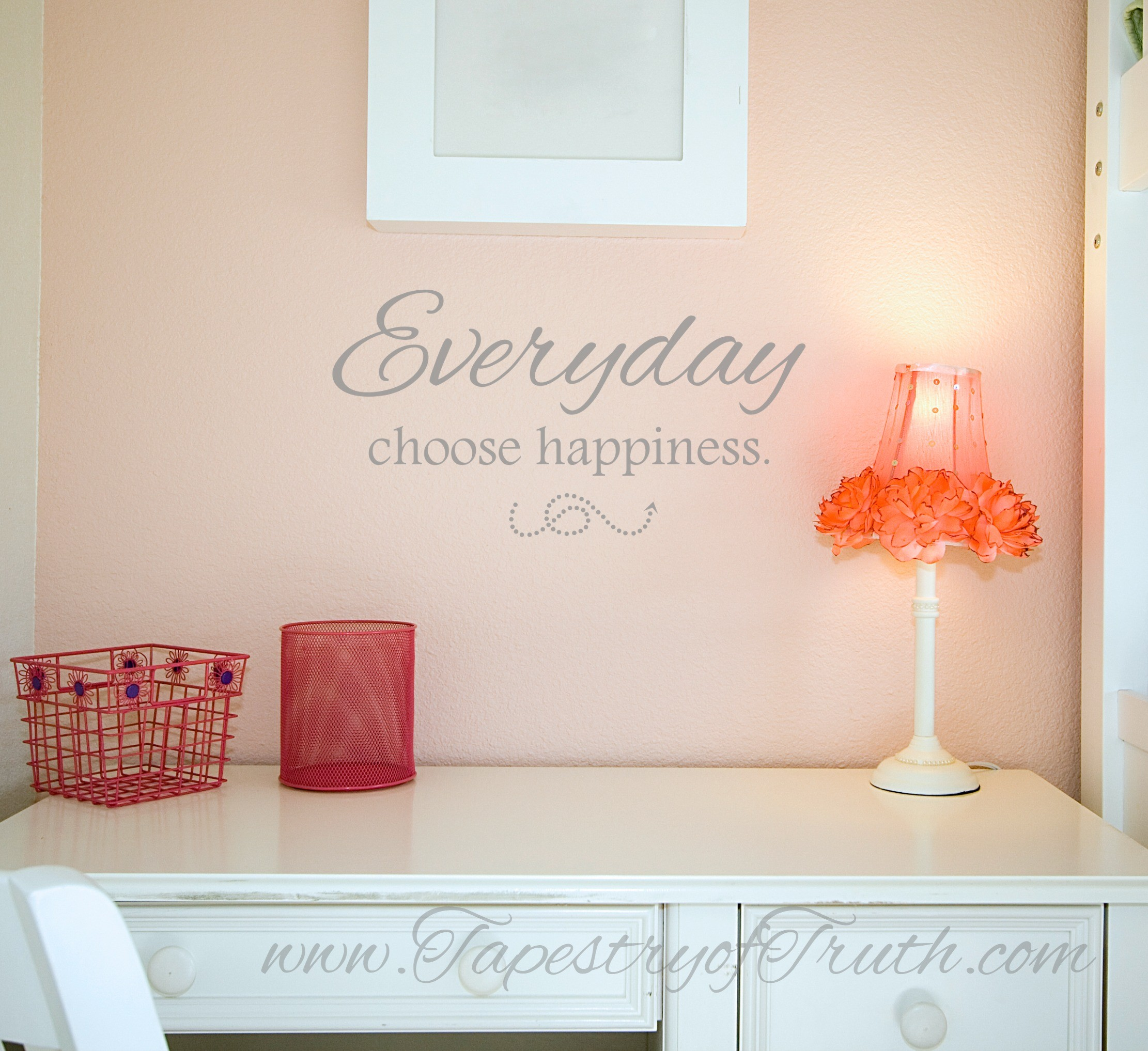 Everyday choose happiness.