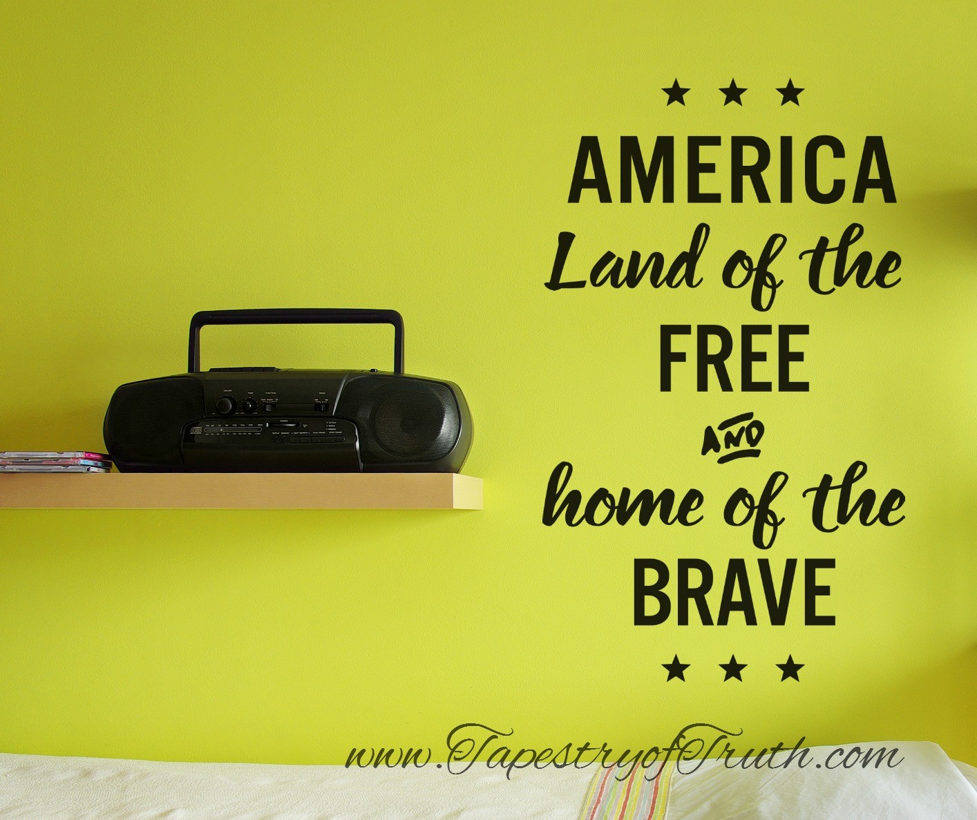 America - Land of the Free and Home of the Brave