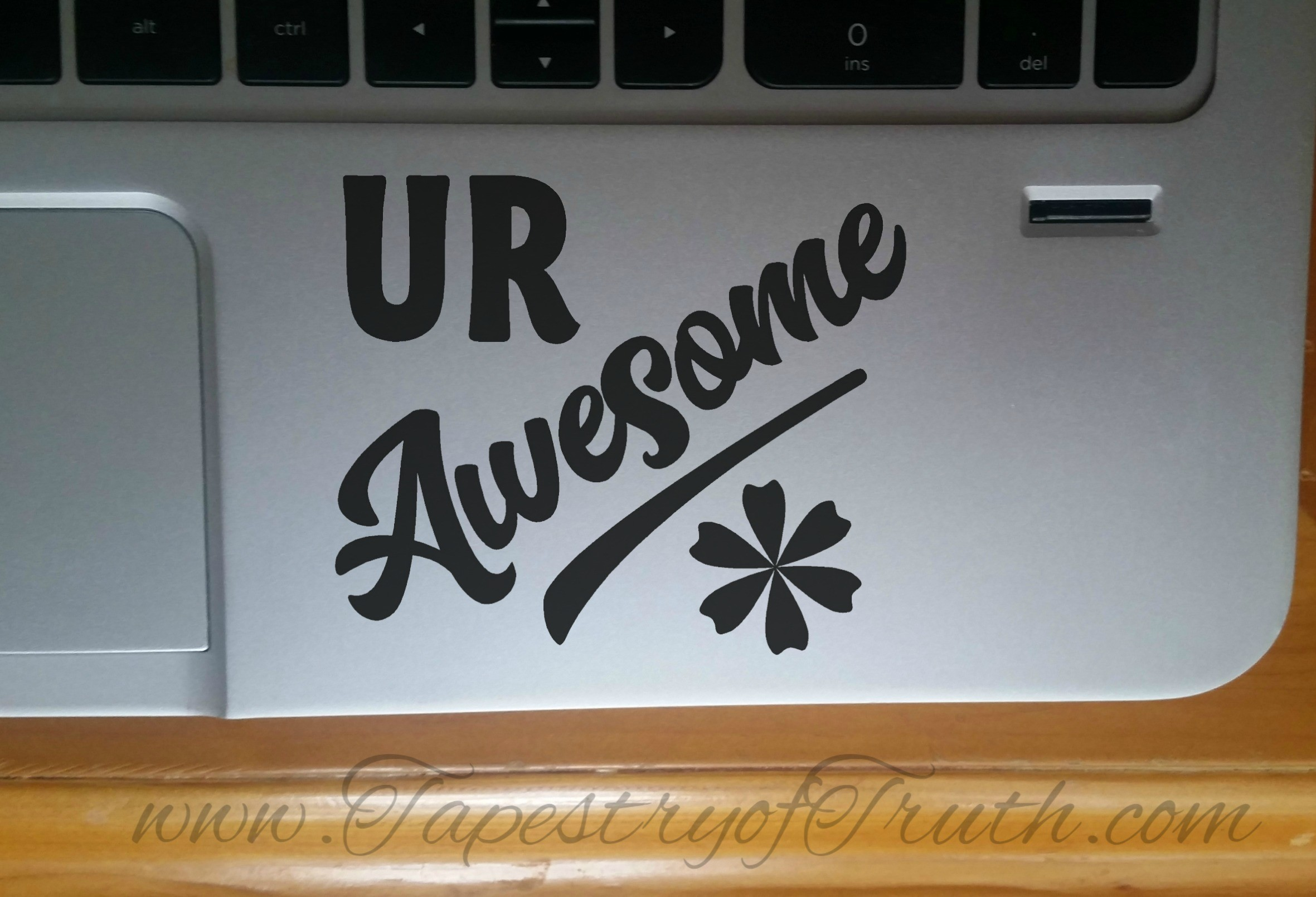 UR Awesome - Laptop Decal