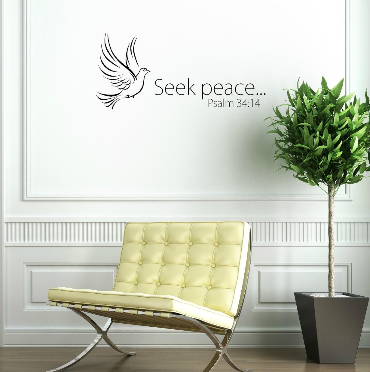 Seek Peace… Psalm 34:14