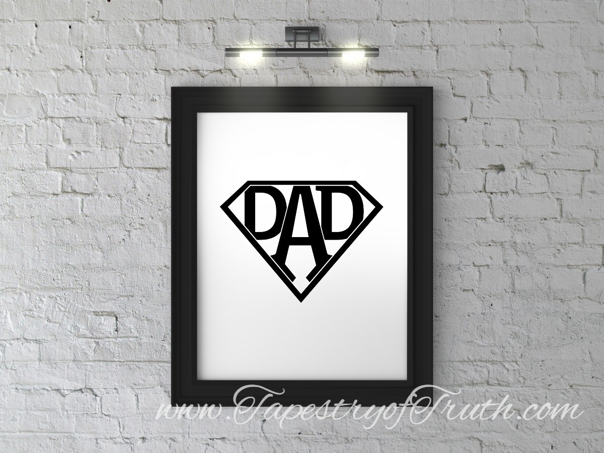 Super Dad (decal only)