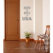 Born & Bred in the USA - decal1