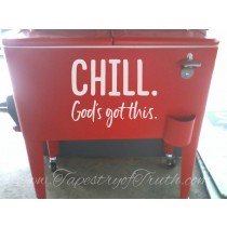 Chill. God's got this.
