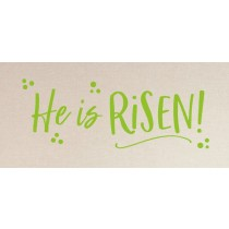 He is Risen! decal