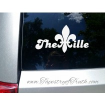 The Ville Fleur de Lis - Car Decal